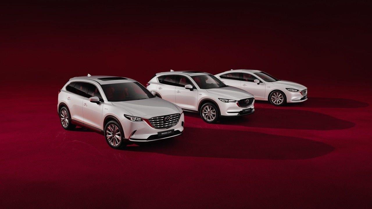 «Мазда» представила юбилейные версии трех моделей в России