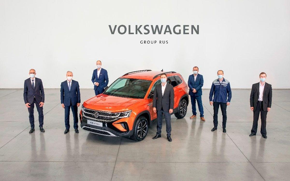 Volkswagen начал производство нового кроссовера Taos в России