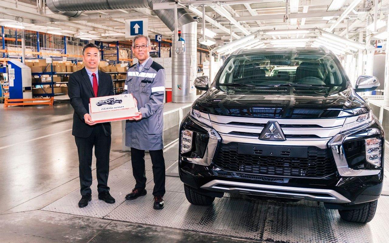 В России началось производство нового Mitsubishi Pajero Sport