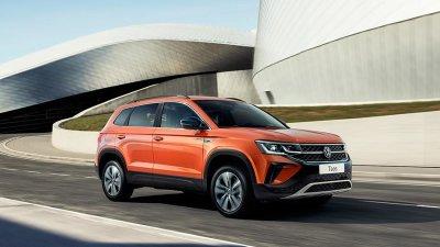В Москве представили новый кроссовер Volkswagen Taos