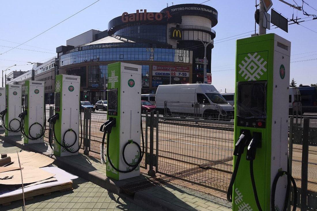 Будут ли строить в России зарядные станции?