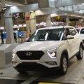 В России началось производство новой Hyundai Creta