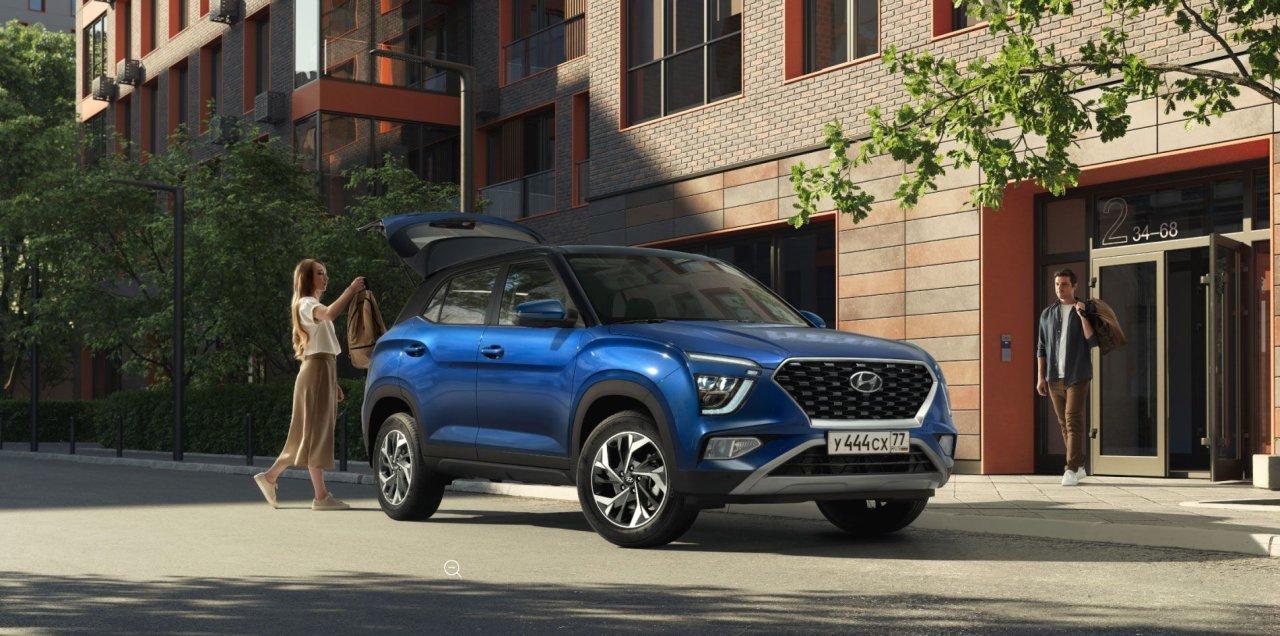 Смотрите цены на новый Новая Hyundai Creta