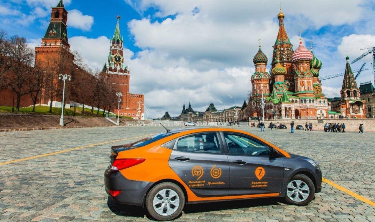 ВМоскве подсчитали совершенные водителями каршеринга нарушения заполгода