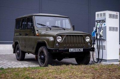 УАЗ Хантер стал электромобилем ивышел нарынок как чешский MWM SpartanEV