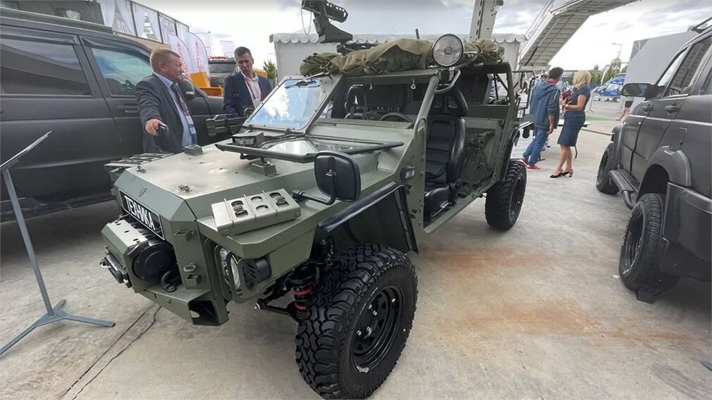 Российские военные испытали новый багги на базе Нивы