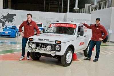 Швейцарцы о подготовке Нивы 1984 г. вып. на ралли Dakar-2022