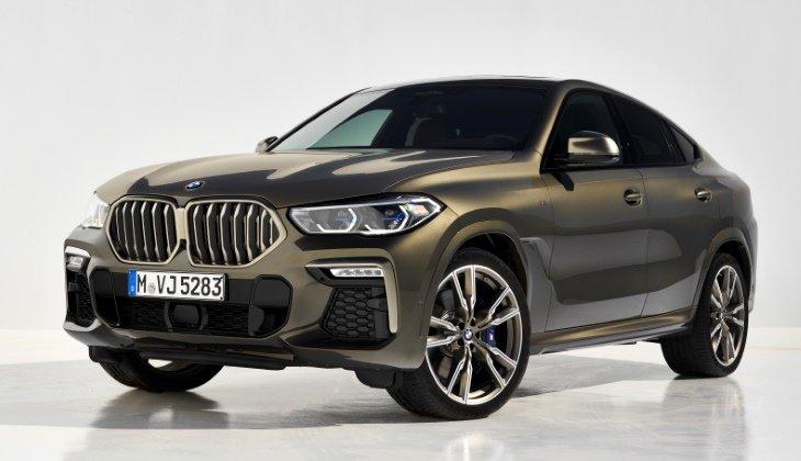 Новый BMW X6 - красивый и дорогой. Все цены