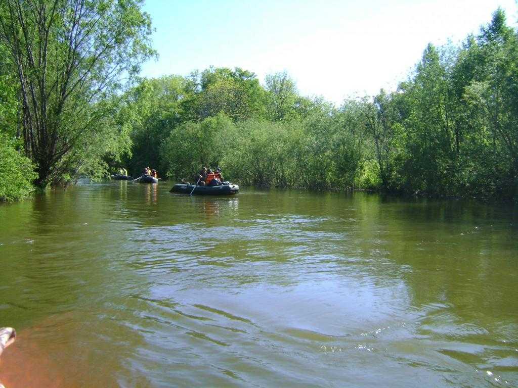 Сплав по реке Хор