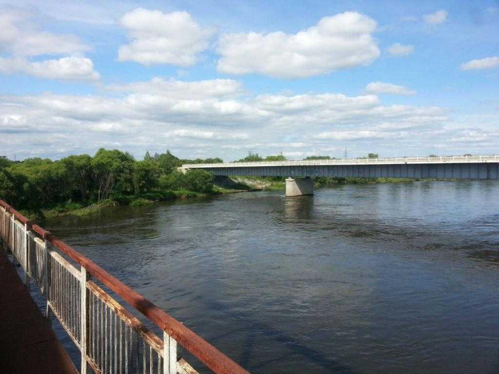 Мосты через реку Хор